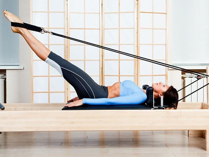 A Pilates Workout